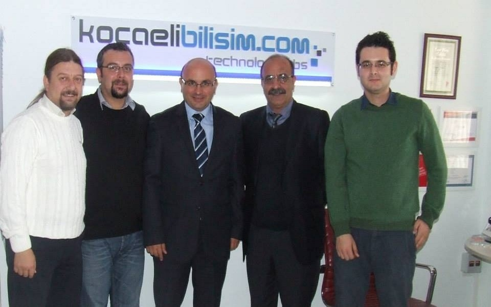 Dr Metin Oral visited Kocaeli Bilisim